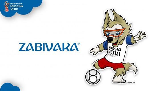 Футбол волк Забивака