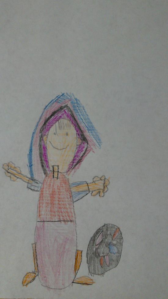 Детская работа Варя