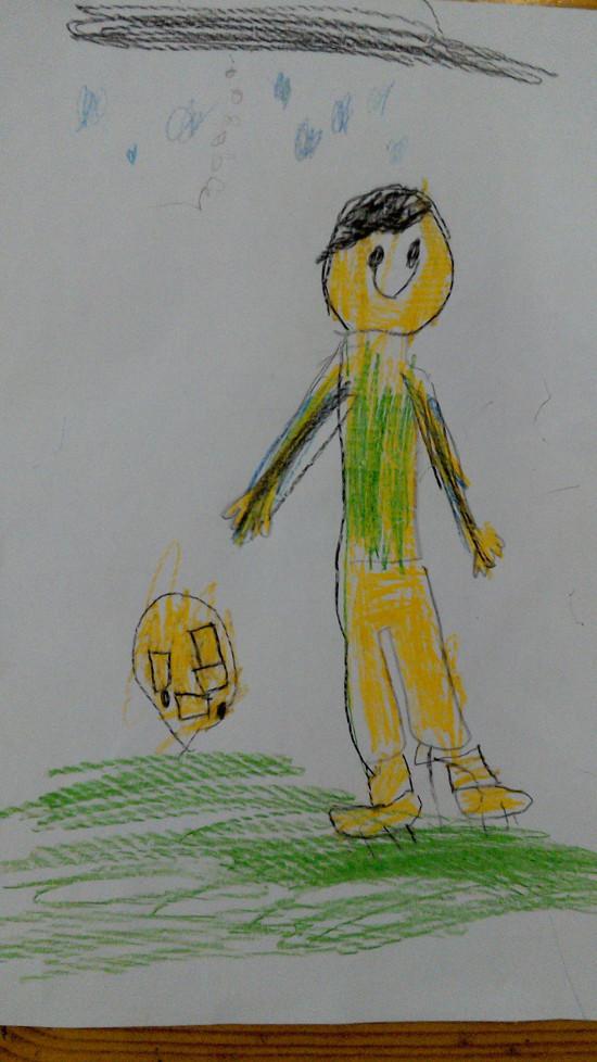 Детская работа Гордей